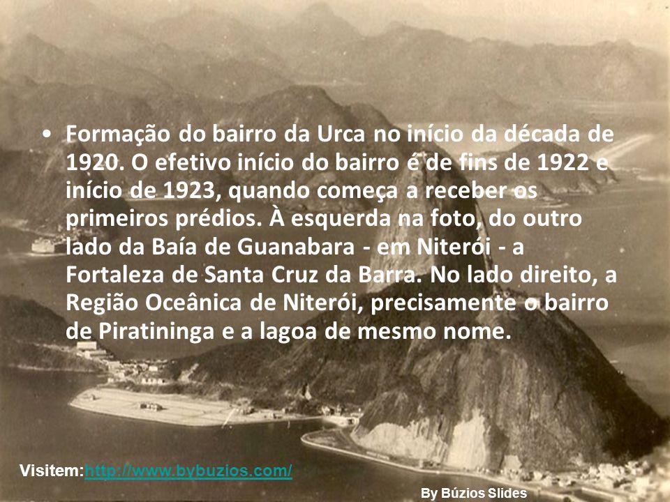 Formação do bairro da Urca no início da década de 1920