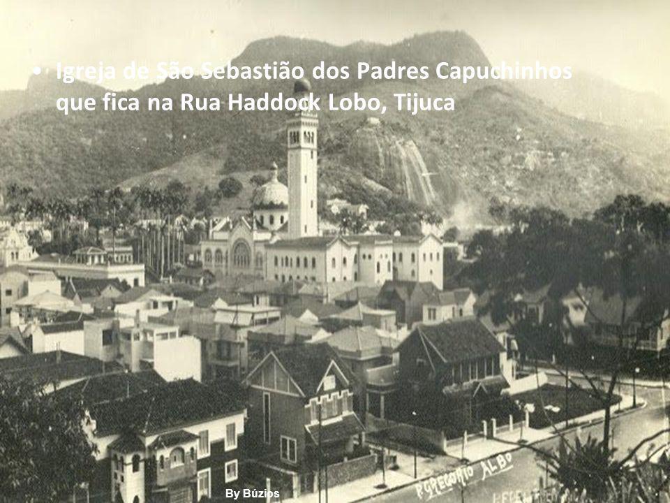 Igreja de São Sebastião dos Padres Capuchinhos que fica na Rua Haddock Lobo, Tijuca