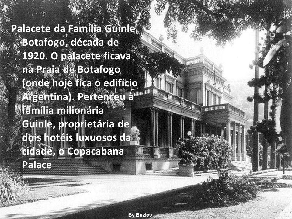 Palacete da Família Guinle, Botafogo, década de 1920