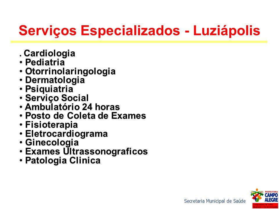 Serviços Especializados - Luziápolis