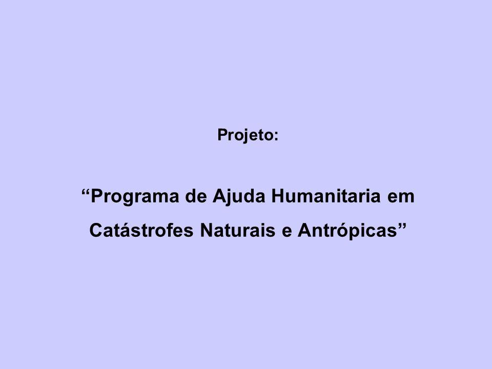 Programa de Ajuda Humanitaria em Catástrofes Naturais e Antrópicas
