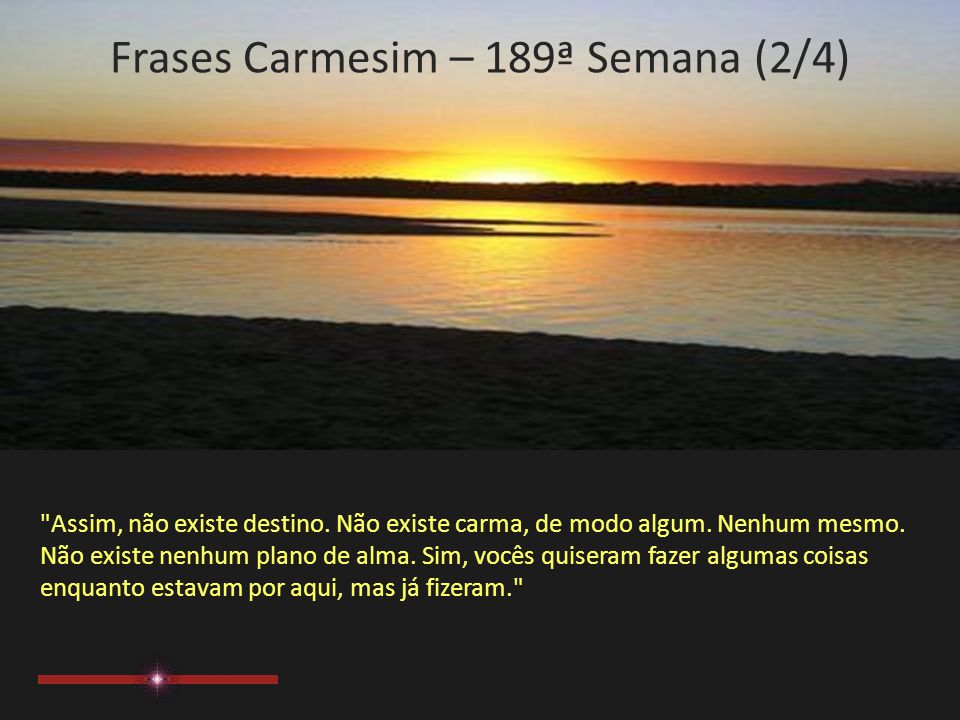 Frases Carmesim – 189ª Semana (2/4)