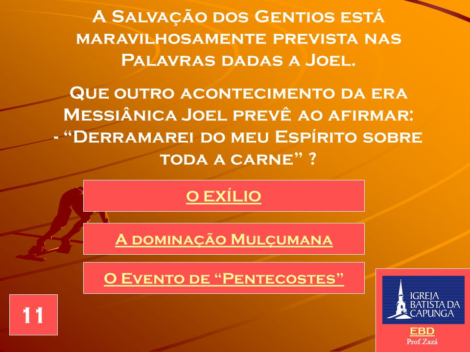 O Evento de Pentecostes