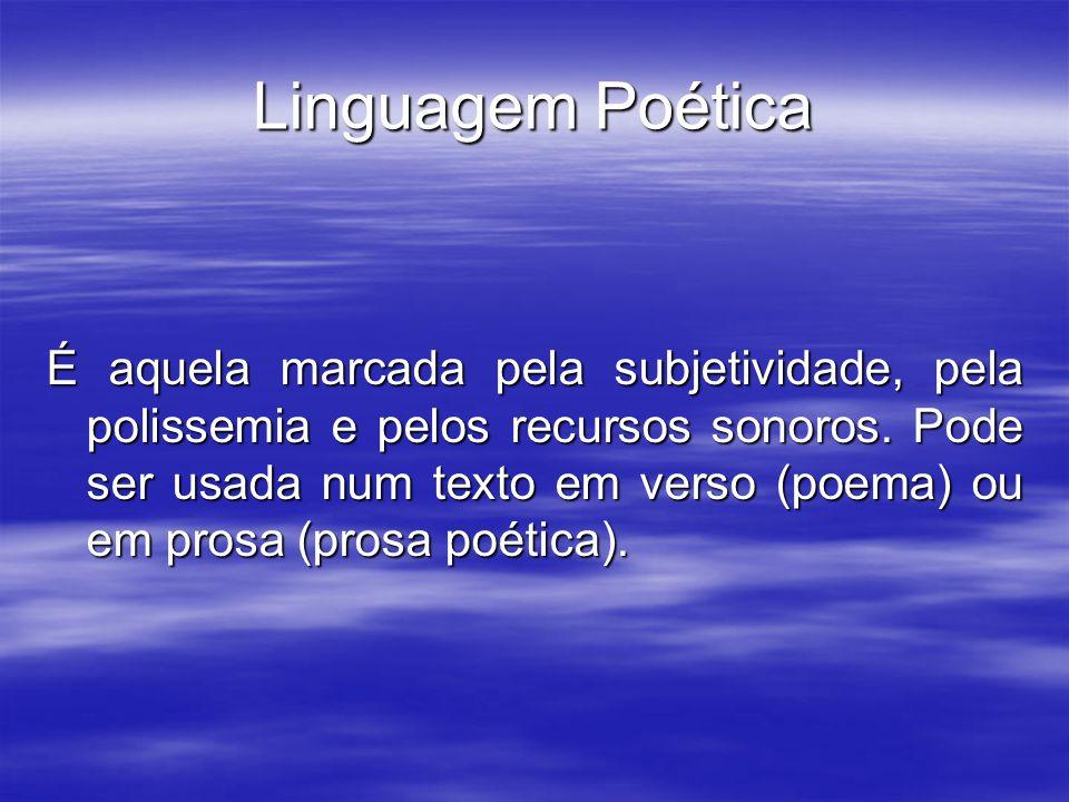 Linguagem Poética