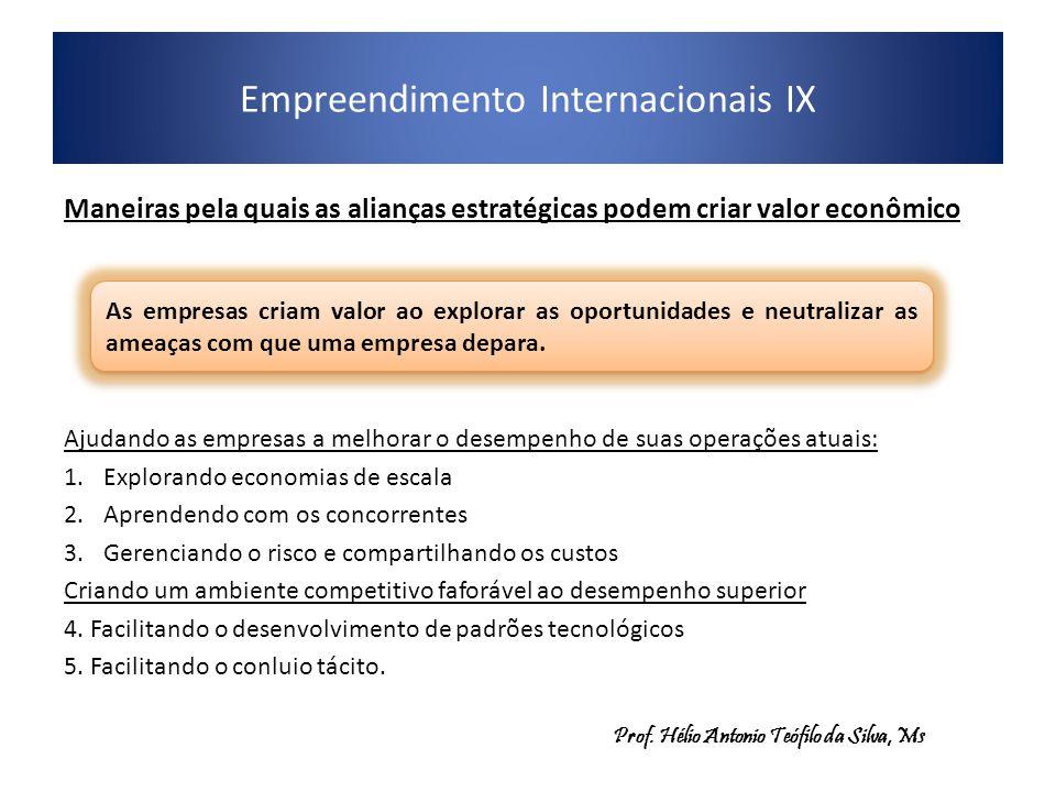 Empreendimento Internacionais IX