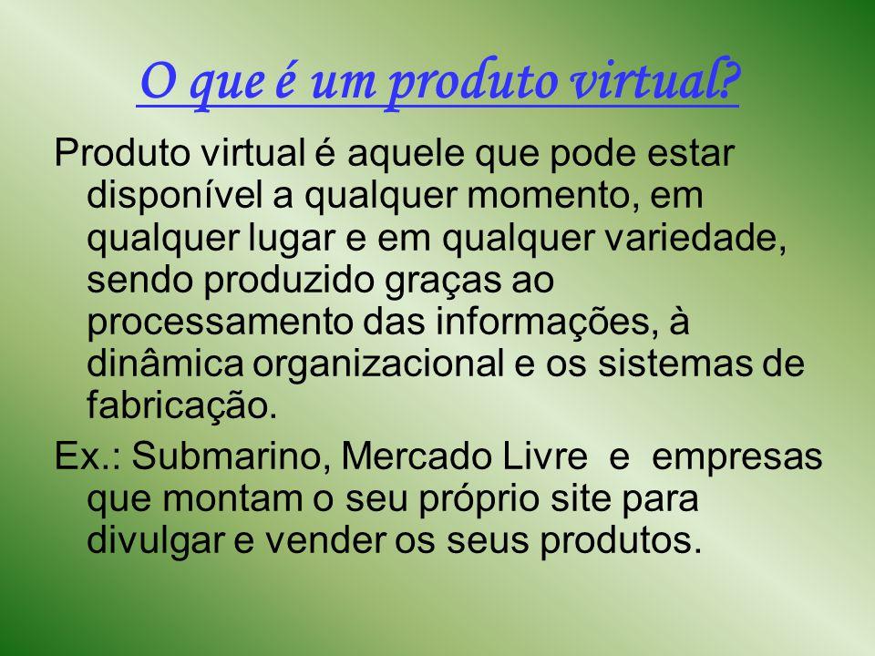 O que é um produto virtual