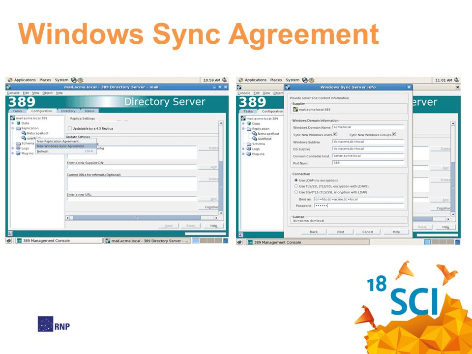 Windows Sync Agreement