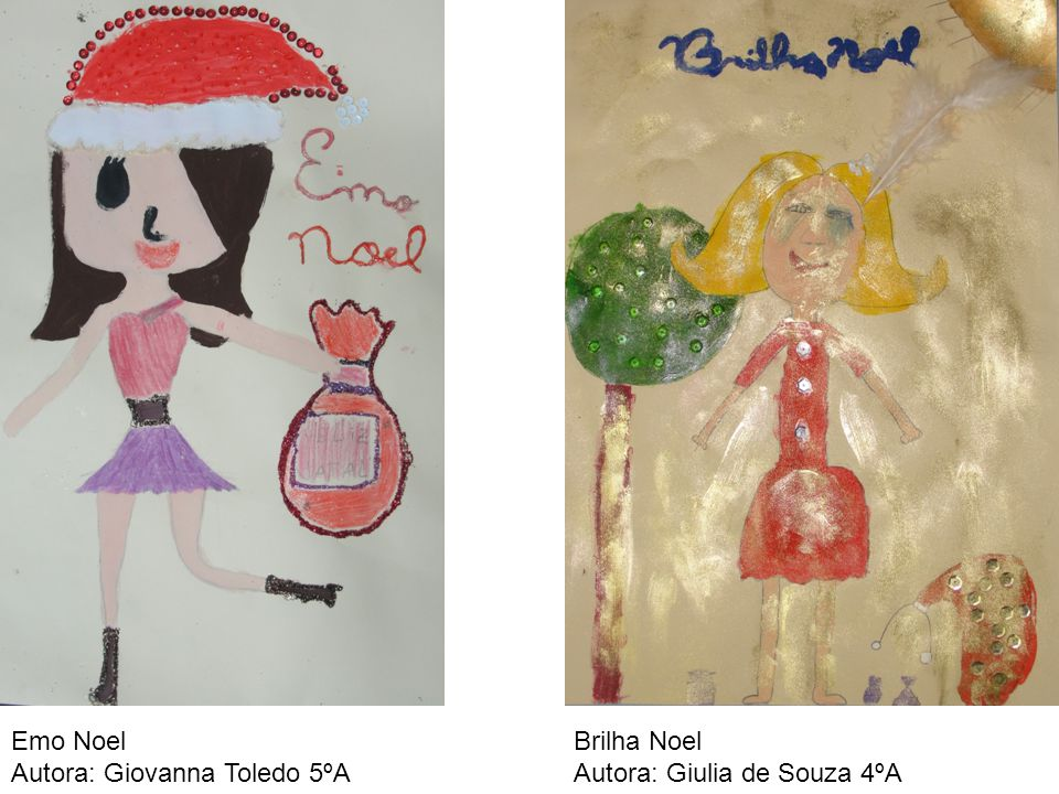 Emo Noel Autora: Giovanna Toledo 5ºA