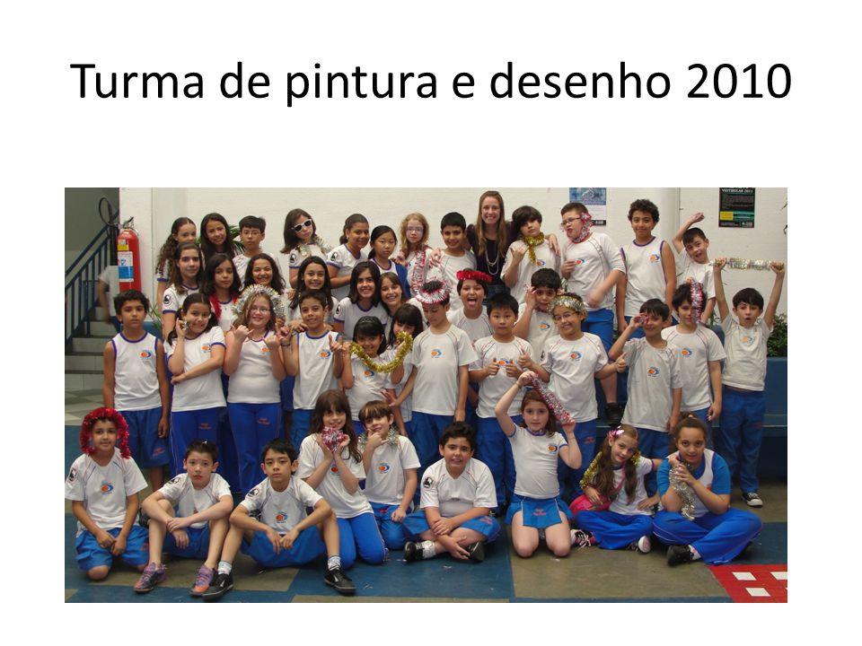 Turma de pintura e desenho 2010