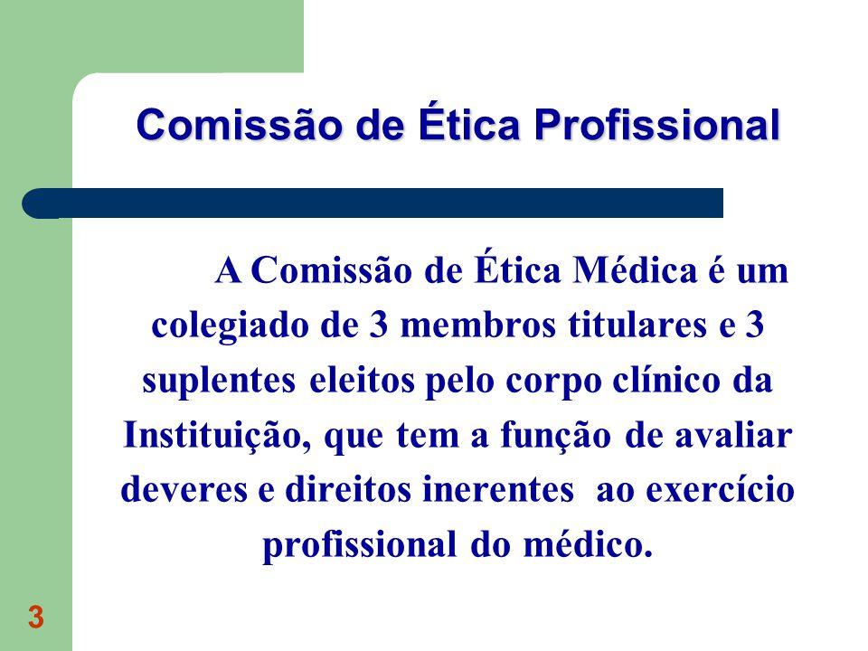 Comissão de Ética Profissional