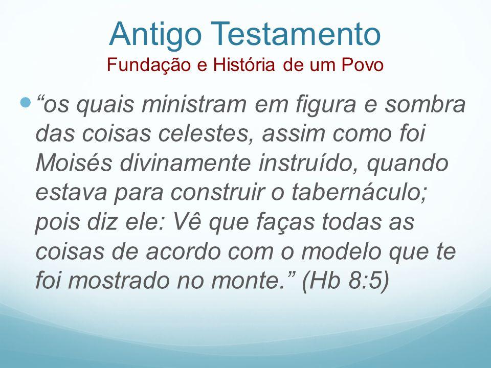 Antigo Testamento Fundação e História de um Povo
