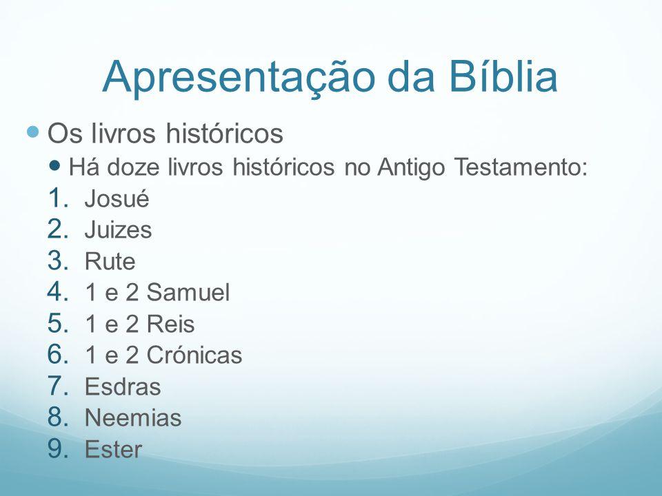 Apresentação da Bíblia