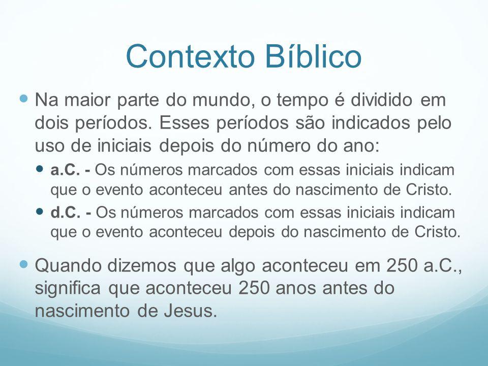 Contexto Bíblico