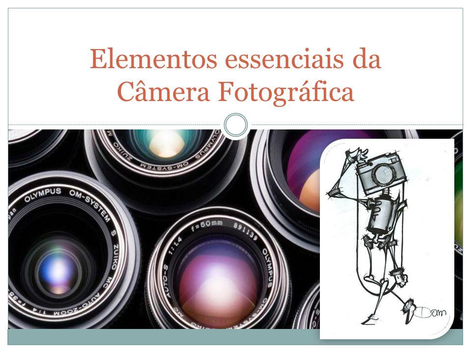 Elementos essenciais da Câmera Fotográfica