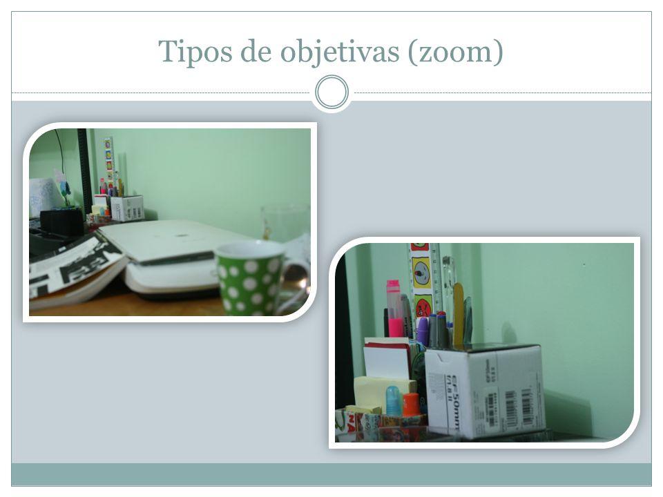 Tipos de objetivas (zoom)