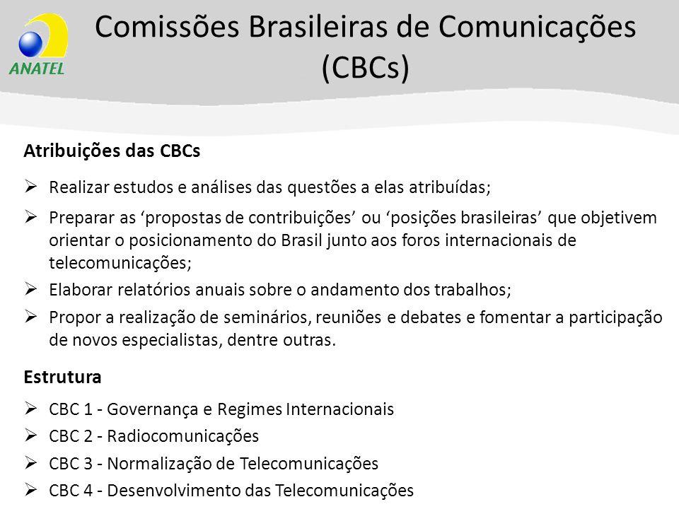 Comissões Brasileiras de Comunicações (CBCs)