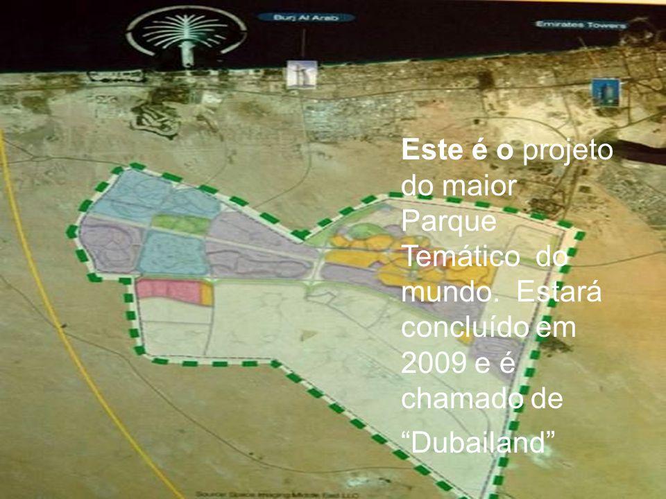 Este é o projeto do maior Parque Temático do mundo