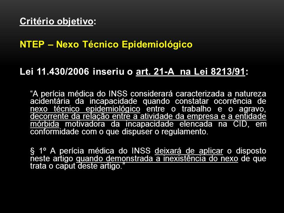NTEP – Nexo Técnico Epidemiológico