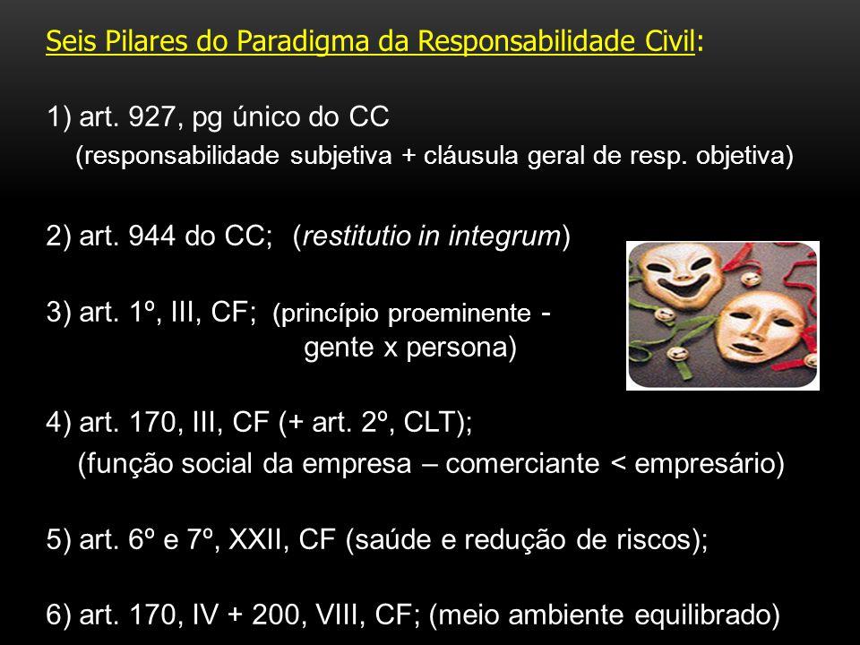 Seis Pilares do Paradigma da Responsabilidade Civil: