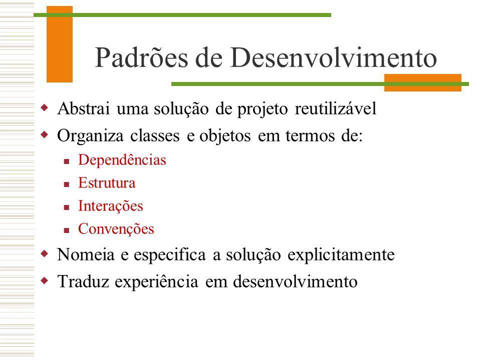 Padrões de Desenvolvimento