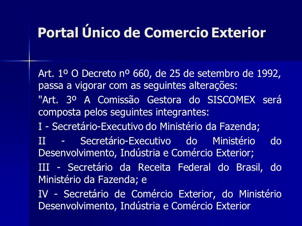 Portal Único de Comercio Exterior