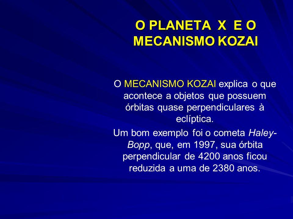 O PLANETA X E O MECANISMO KOZAI