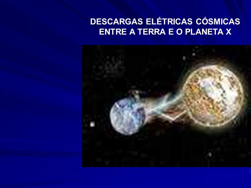 DESCARGAS ELÉTRICAS CÓSMICAS ENTRE A TERRA E O PLANETA X
