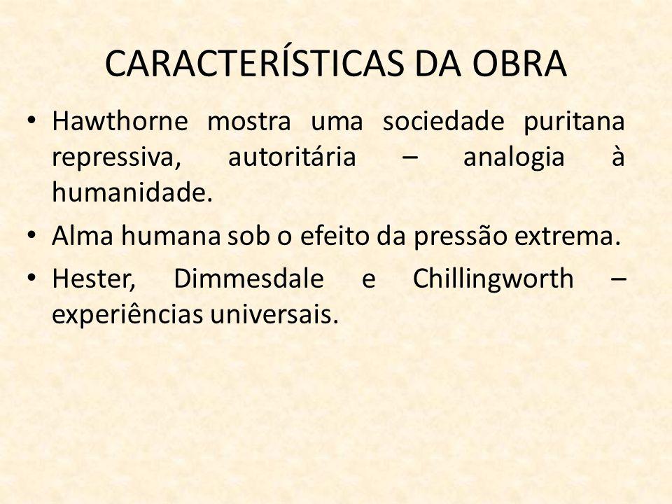 CARACTERÍSTICAS DA OBRA