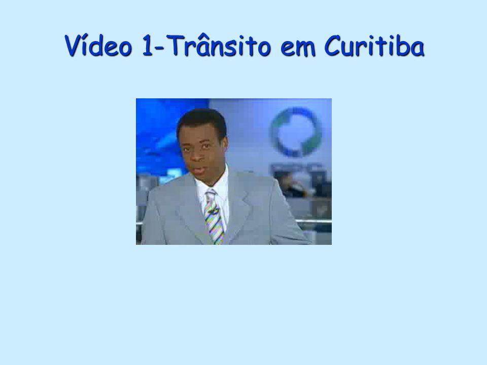 Vídeo 1-Trânsito em Curitiba