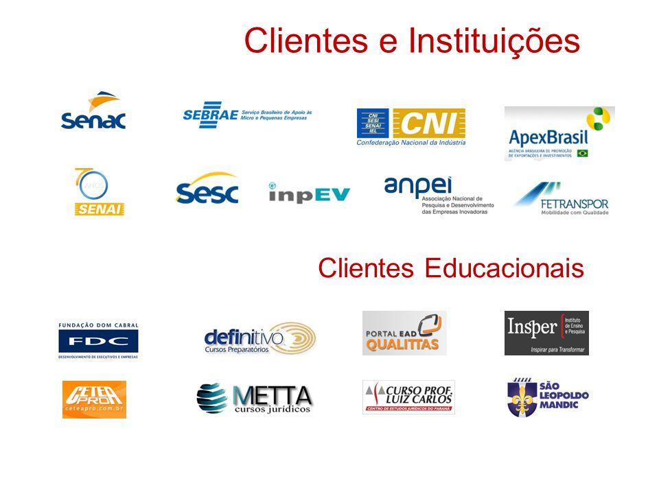 Clientes e Instituições