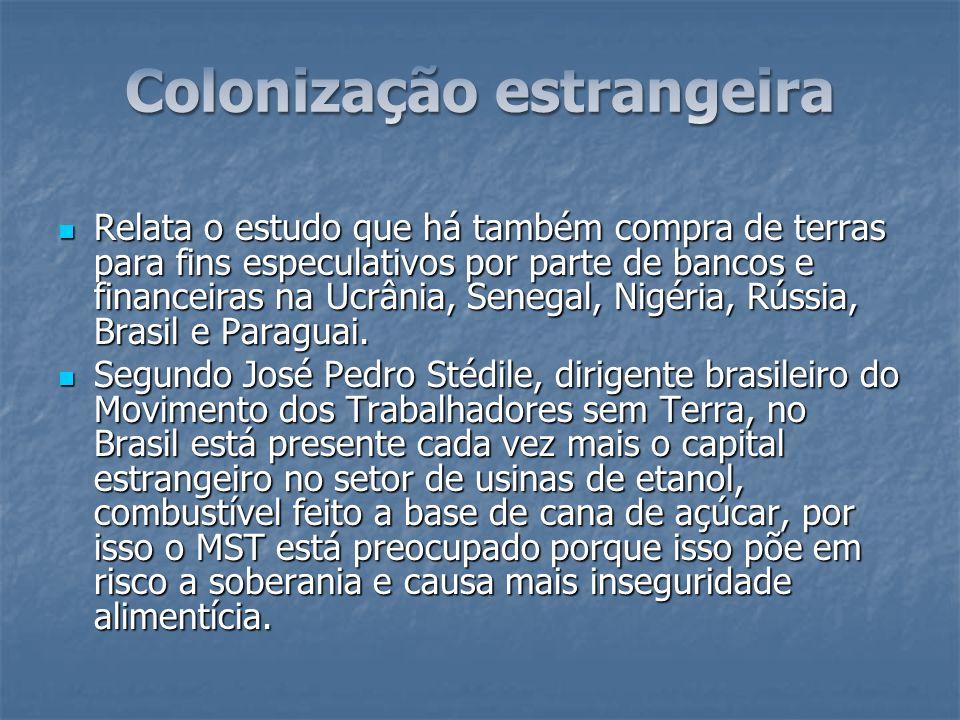 Colonização estrangeira
