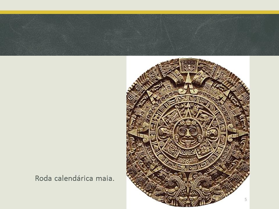 Roda calendárica maia.
