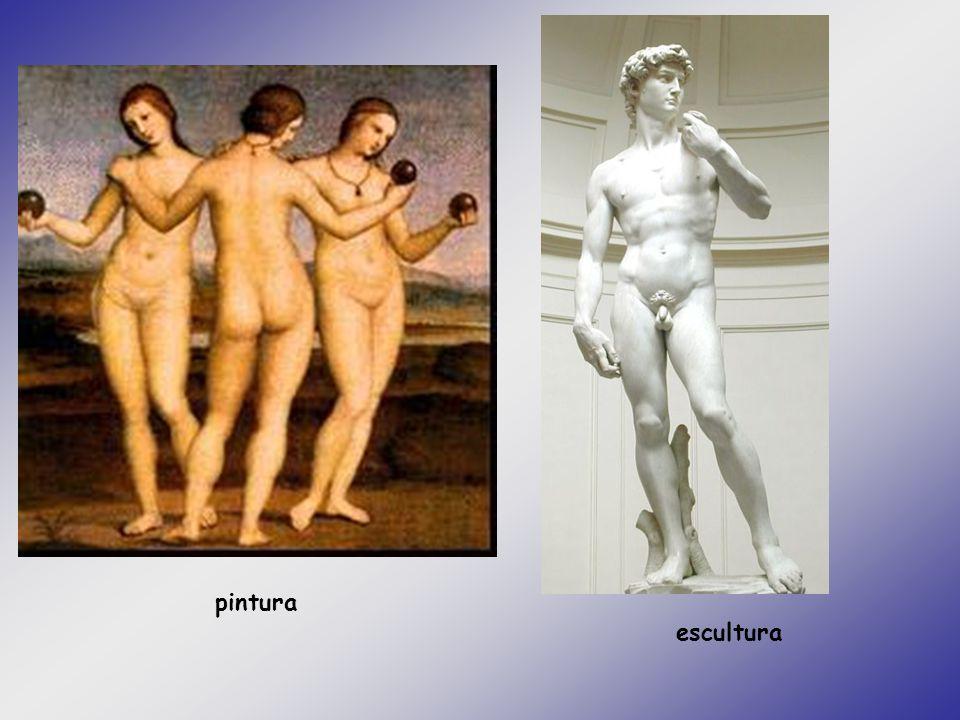pintura escultura