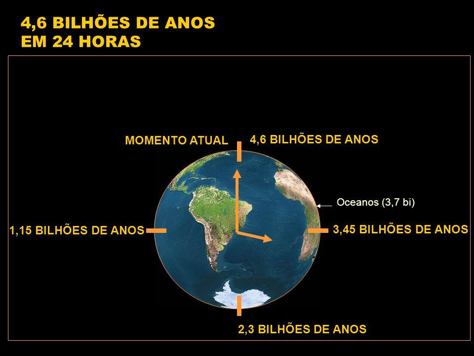 4,6 BILHÕES DE ANOS EM 24 HORAS