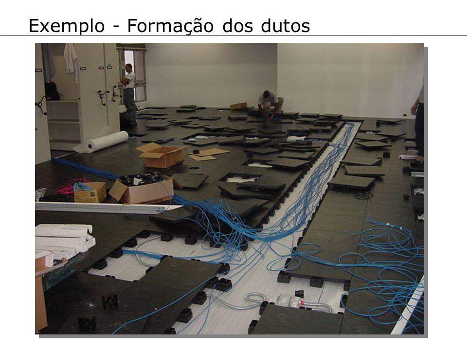 Exemplo - Formação dos dutos