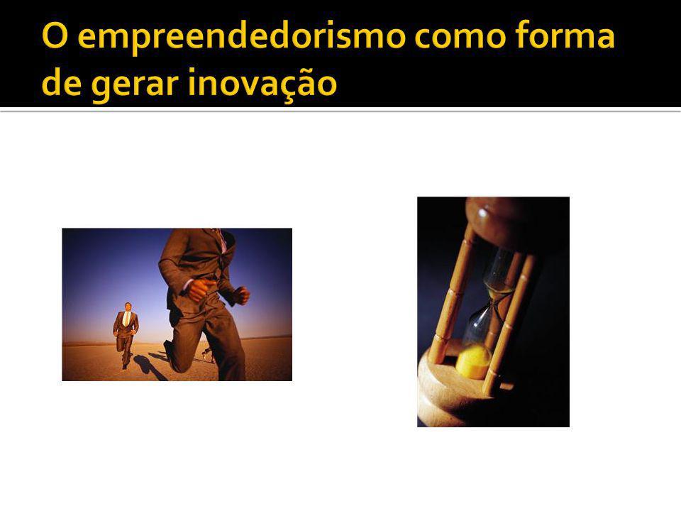 O empreendedorismo como forma de gerar inovação