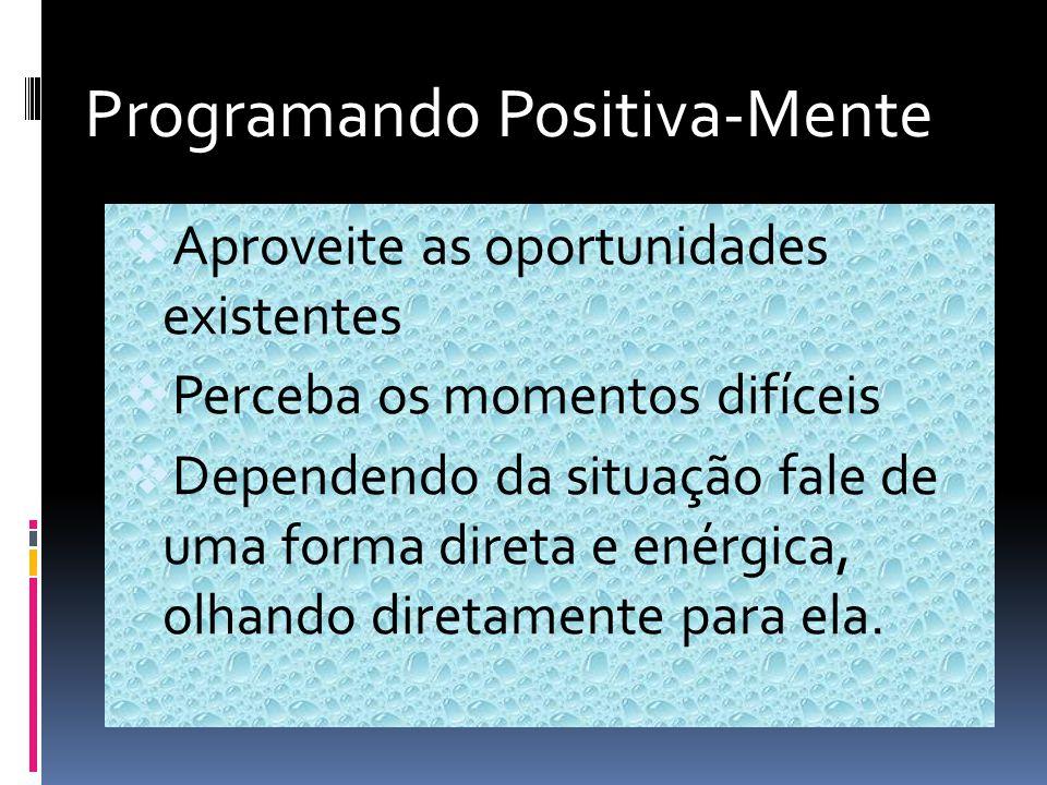 Programando Positiva-Mente