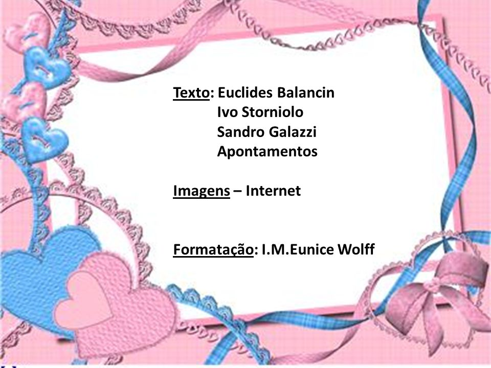 Texto: Euclides Balancin