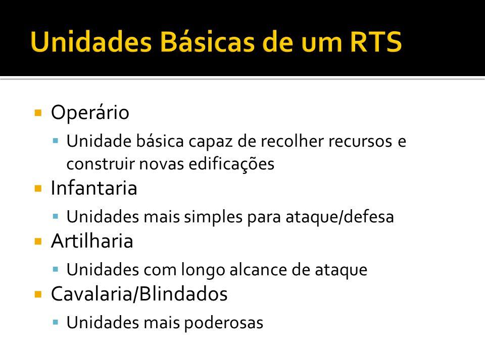 Unidades Básicas de um RTS