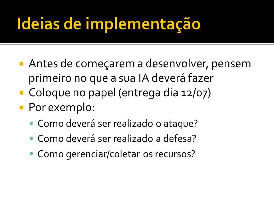 Ideias de implementação