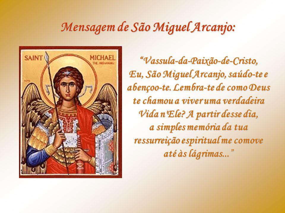Mensagem de São Miguel Arcanjo: