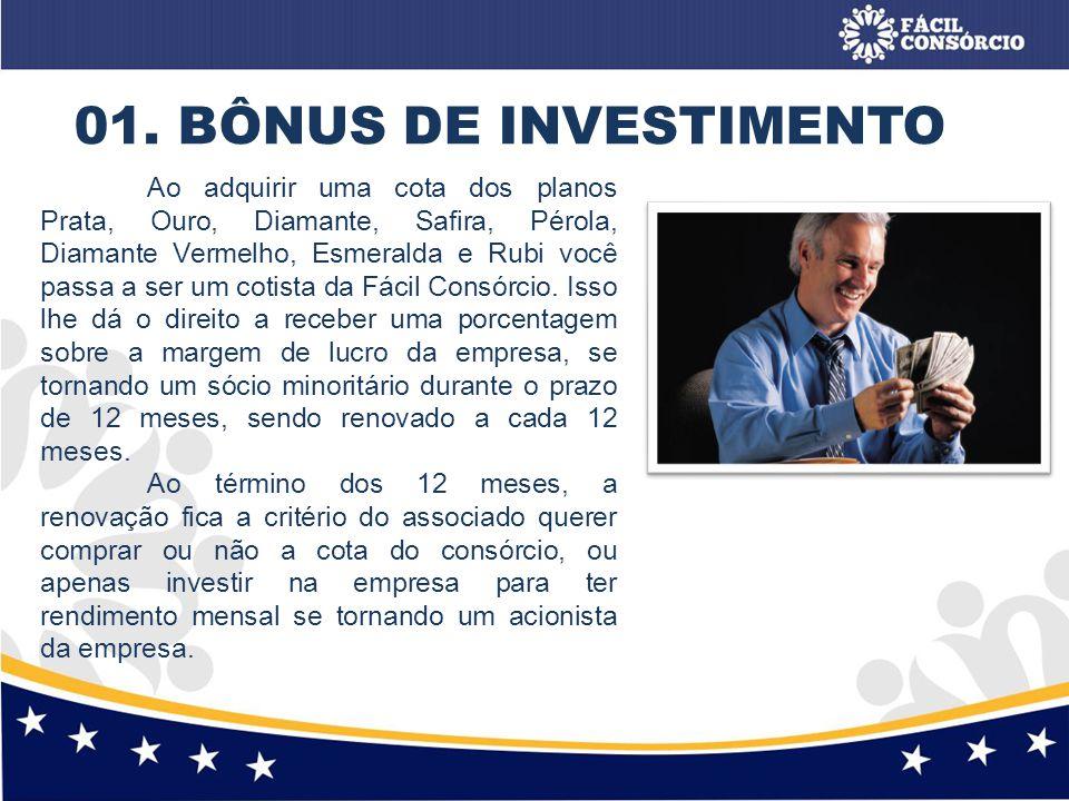 01. BÔNUS DE INVESTIMENTO