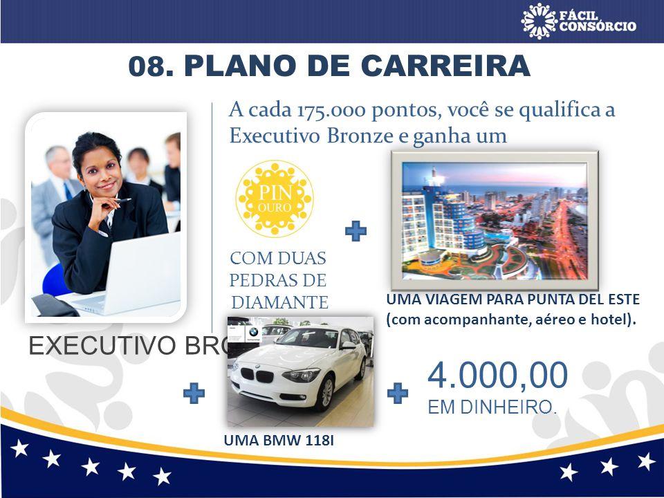 4.000,00 08. PLANO DE CARREIRA EXECUTIVO BRONZE
