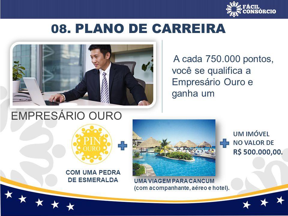 COM UMA PEDRA DE ESMERALDA