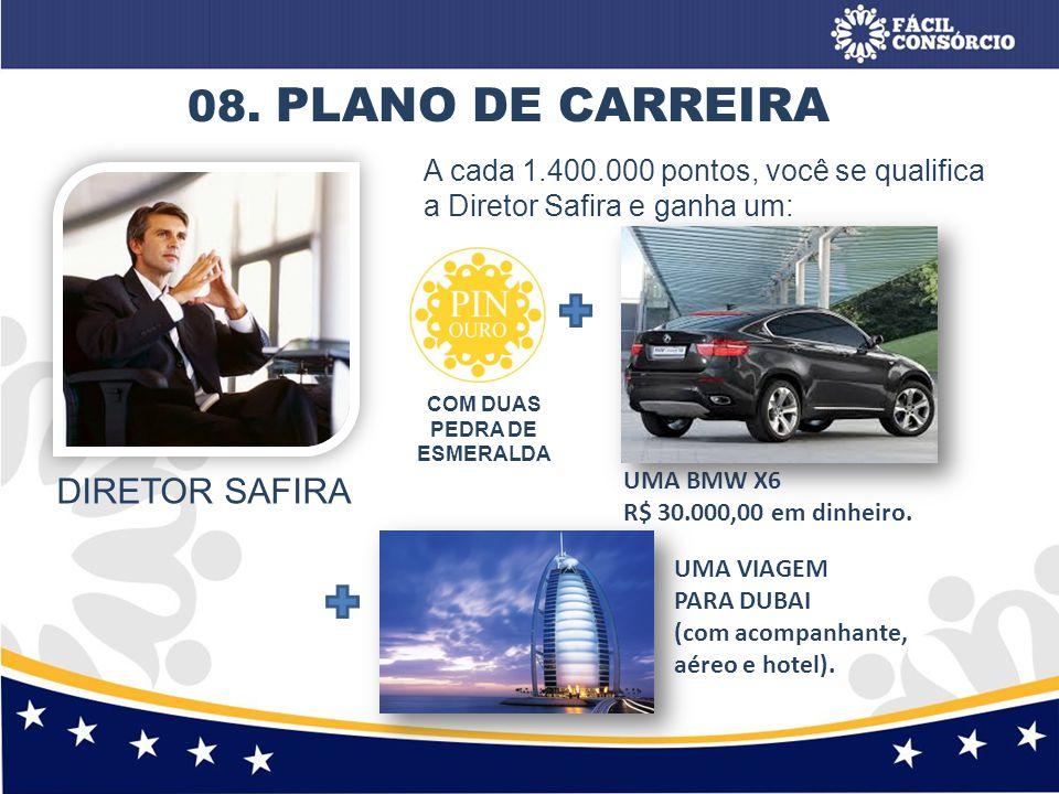 08. PLANO DE CARREIRA DIRETOR SAFIRA