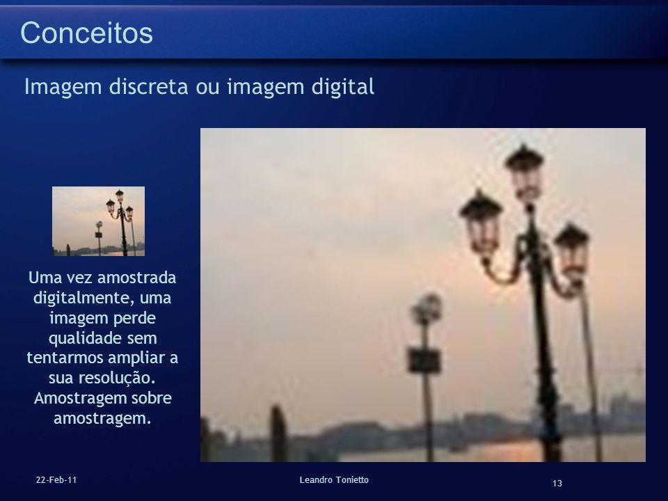 Conceitos Imagem discreta ou imagem digital