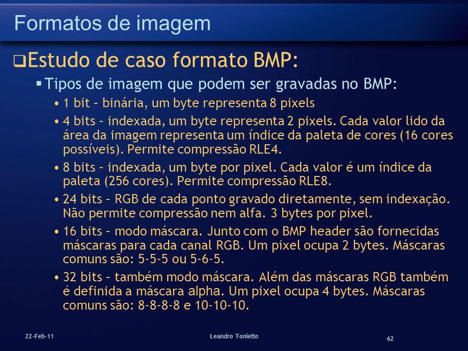 Estudo de caso formato BMP: