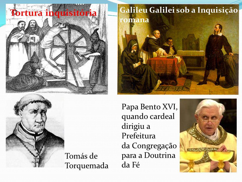 Tortura inquisitória Galileu Galilei sob a Inquisição romana