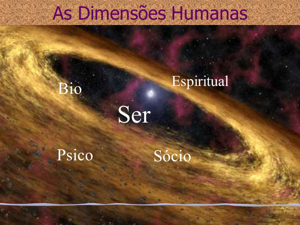 As Dimensões Humanas Espiritual Bio Ser Psico Sócio