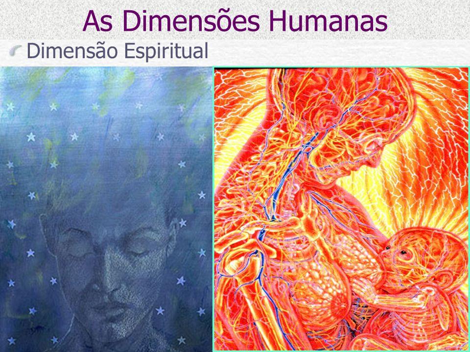 As Dimensões Humanas Dimensão Espiritual